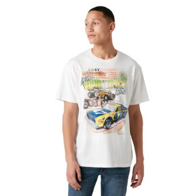 WRANGLER Car Men Tee - Off White (W7APGF737)
