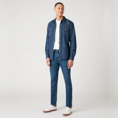 WRANGLER Greensboro Jeans in Jin Jeany (W15QC548P)