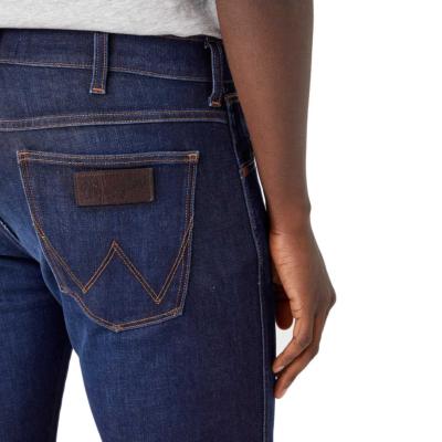 WRANGLER Larston Jeans Tapered - Lucky Star (back pocket)