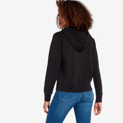WRANGLER Logo Hoodie Women - Black (W6N4HA100)