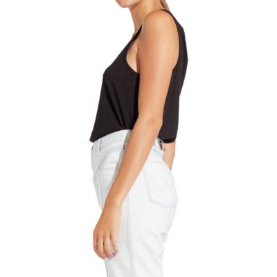 WRANGLER Γυναικείο Μπλουζάκι Μαύρο (W738-7E-V01)