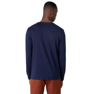 WRANGLER Long Sleeve Americana Men Tee - Navy (W7G0D3114)