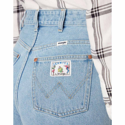 WRANGLER Mom Denim Women Shorts - Honolulu (W22D-WP-76Q)