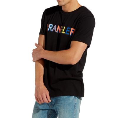 WRANGLER Μπλουζάκι Στάμπα Ανδρικό Μαύρο (W7C25FQ01)