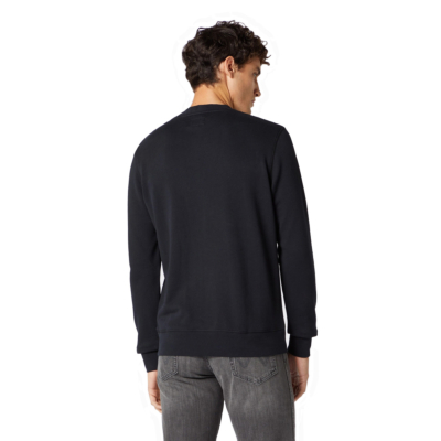 WRANGLER Sign Off Crew Men Sweat - Black (W658-9H-A01)