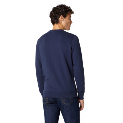 WRANGLER Sign Off Crew Men Sweatshirt - Navy (W658-9H-A35)