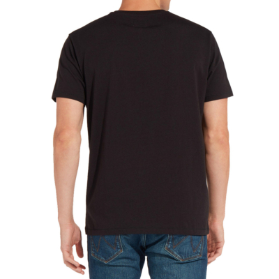WRANGLER Sign Off Men Tee - Black (W7C07D301/ back side)