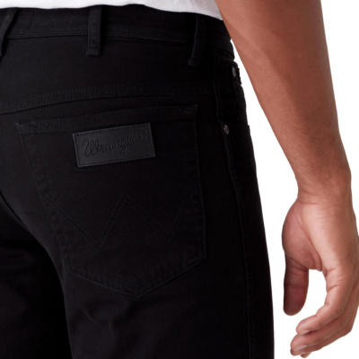 WRANGLER Texas Trousers Straight - Black (pocket)