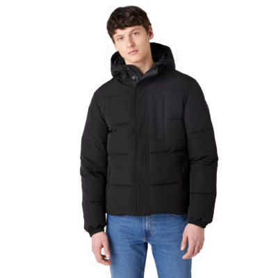 WRANGLER The Bodyguard Men Jacket - Black (W4C8WW100)