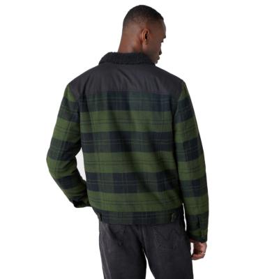 WRANGLER The Trucker Men Jacket - Rifle Green (W4D2SGG13)