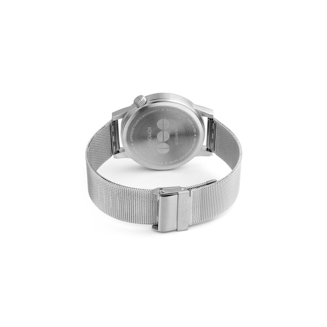 KOMONO Winston Royale Watch - Silver Blue (KOM-W2353)