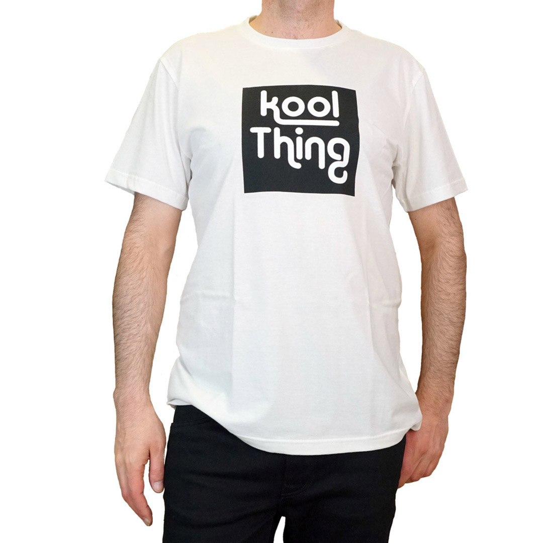 KOOL THING x HOLY STUFF Men T-Shirt - Off White