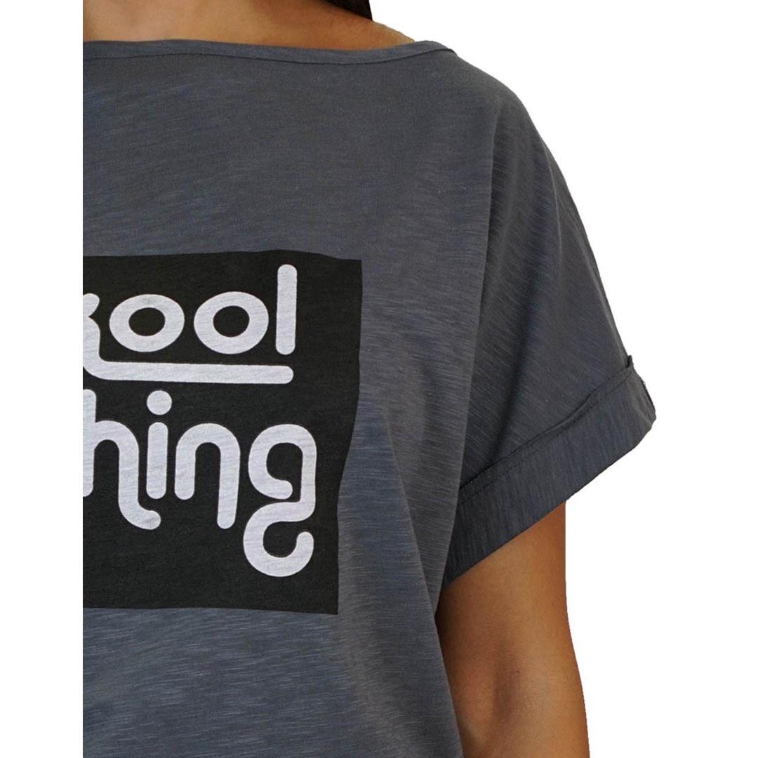 KOOL THING x HOLY STUFF Bat Top - Coal
