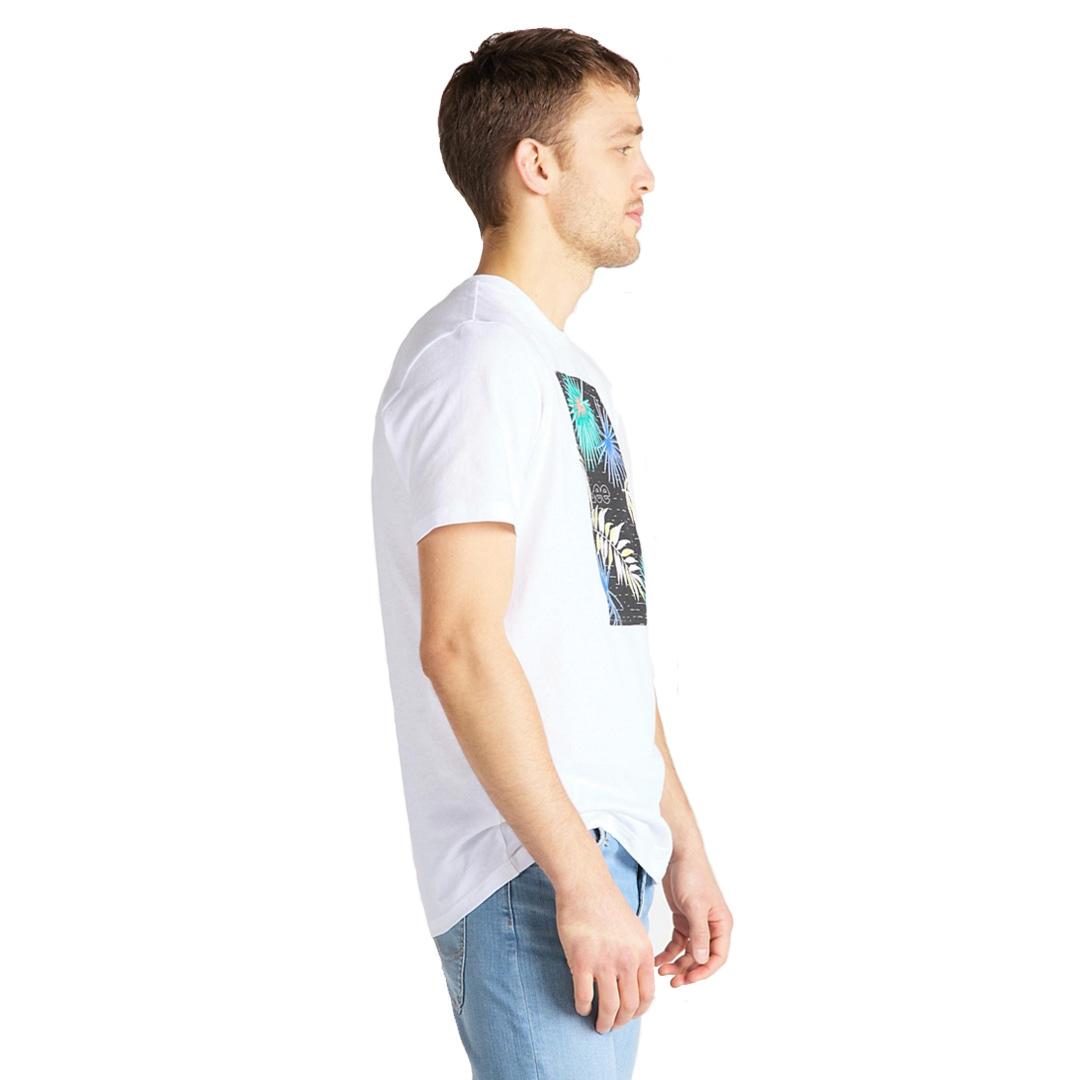 LEE Botanical Μπλουζάκι Ανδρικό Λευκο (L61I-FE-01)