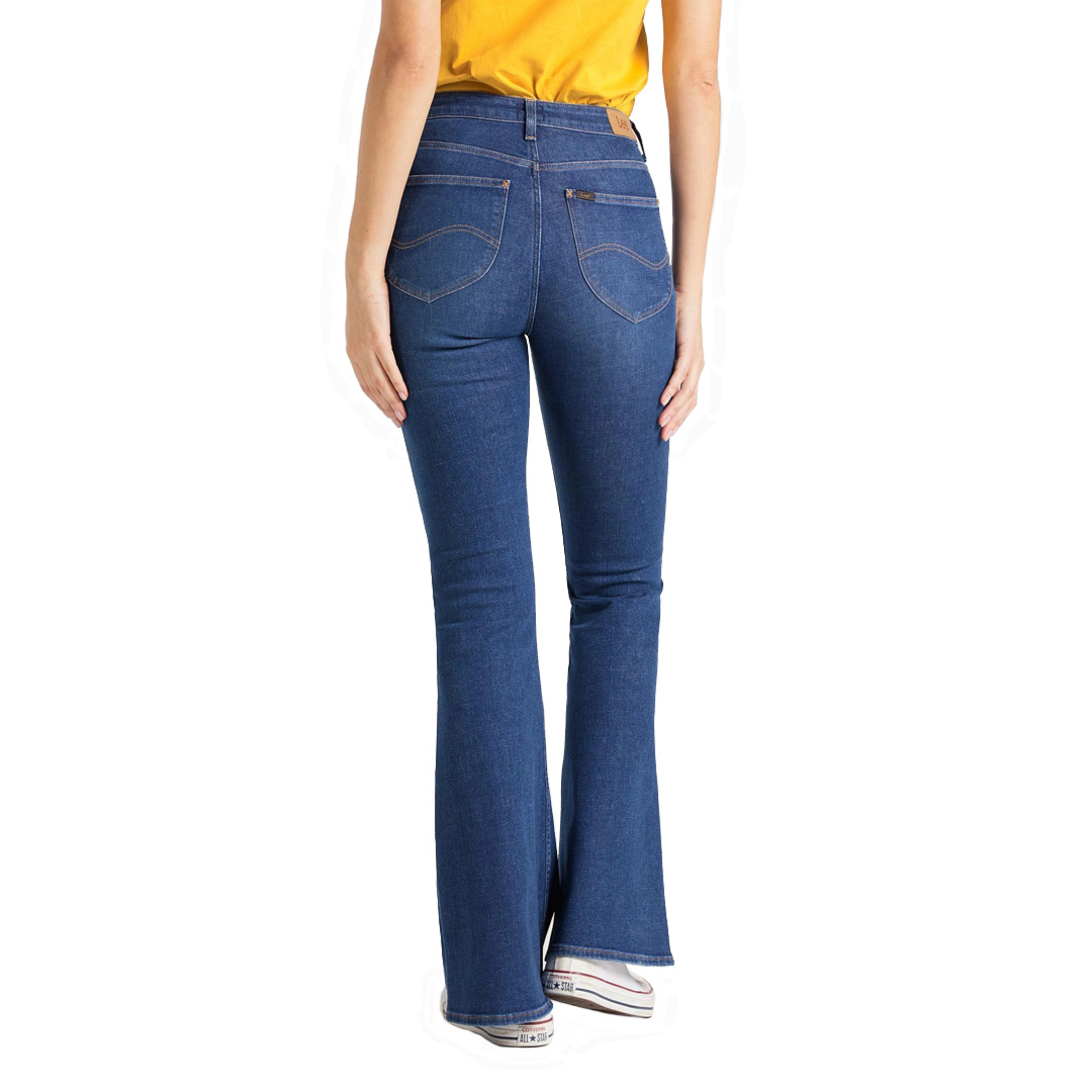 LEE Breese Jeans Women Flare - Dark Favourite (L32Y-RO-NR)