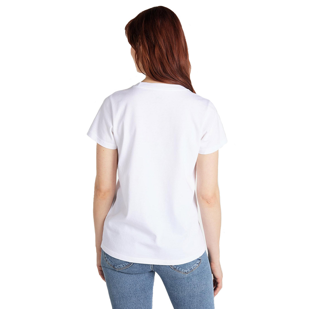 LEE Crew Neck Women T-Shirt - Bright White (L41L-ET-LJ)