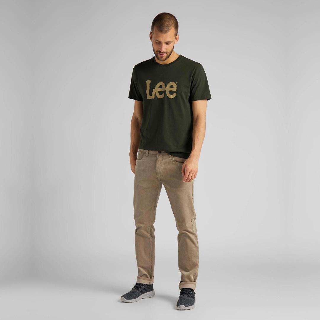 LEE Daren Κοτλέ Ανδρικό  Παντελόνι Μπεζ (L707RL97)