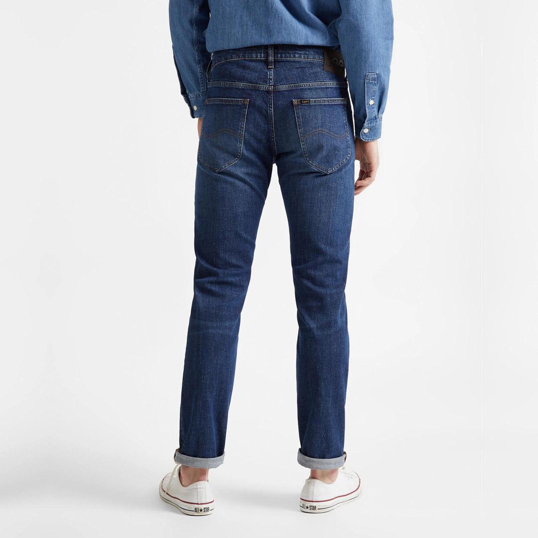 LEE Daren Zip Jeans Men Straight - Mid Foam (L707KNDD)