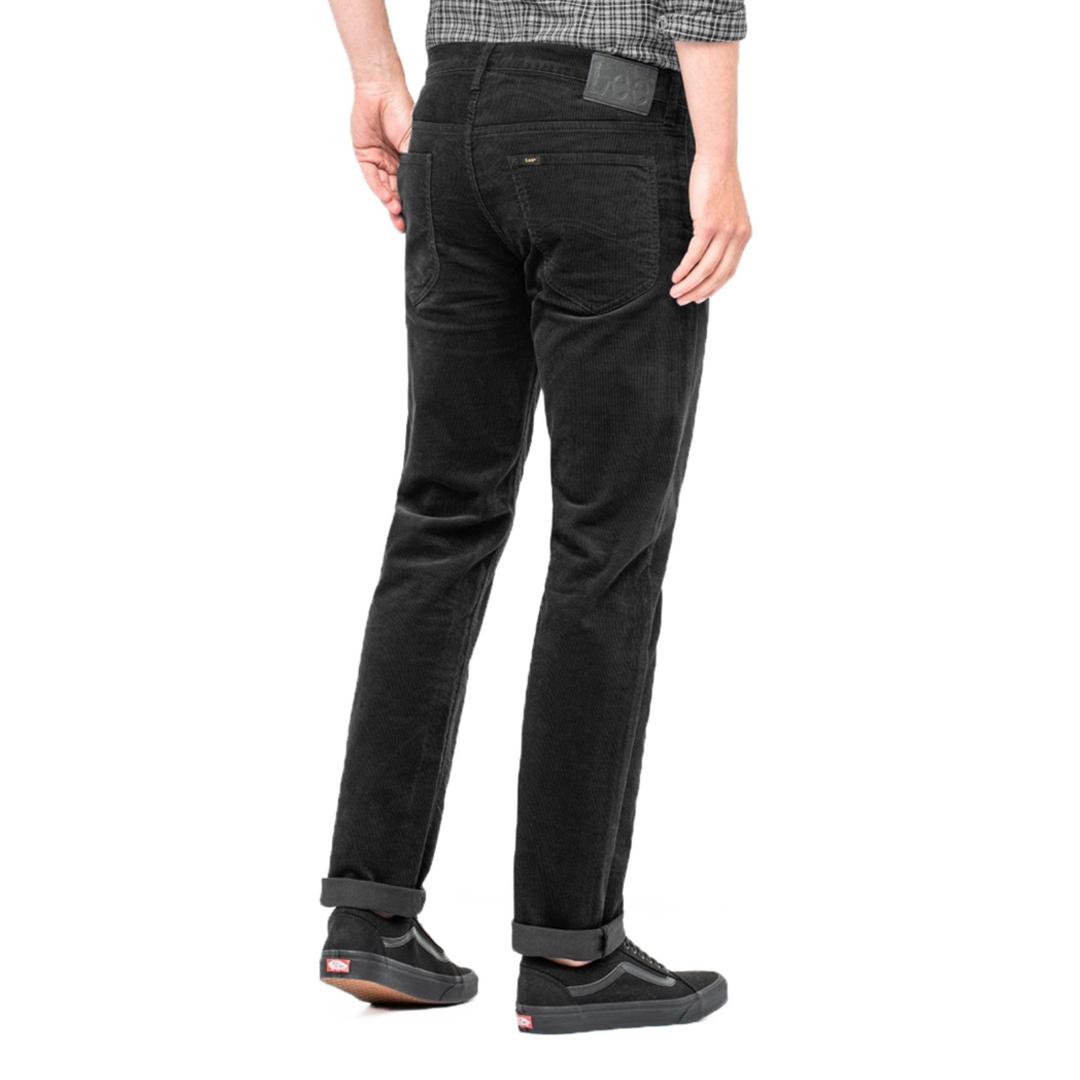 LEE Daren Zip Men Cord - Black (back side)