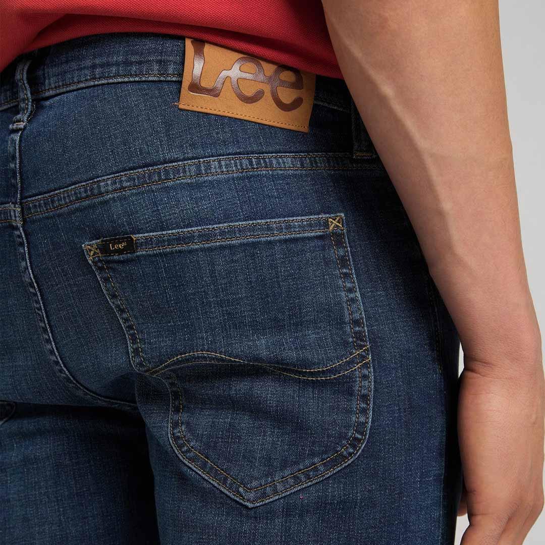 LEE Daren Zip Jeans Straight - Clean Cody (label patch)