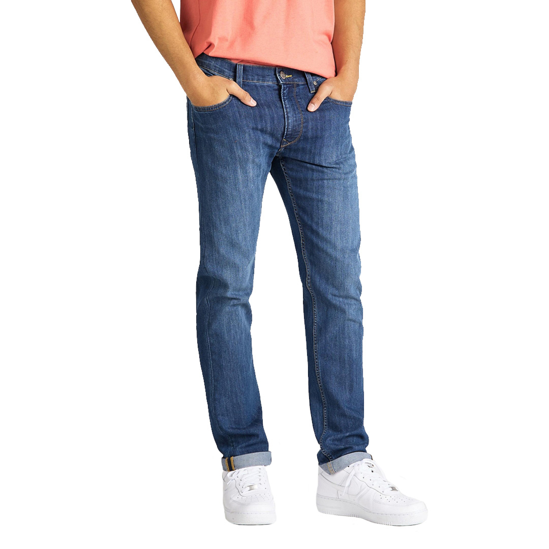 LEE Daren Zip Jeans Straight - True Blue (L707-AC-HJ)