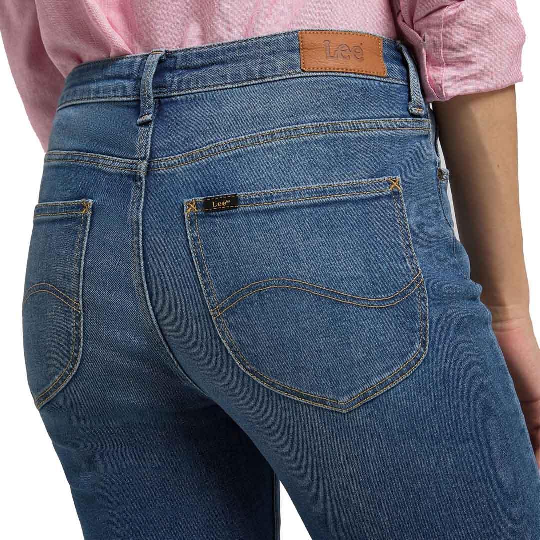 LEE Elly Women Jeans in Mid Worn Martha (back pocket)