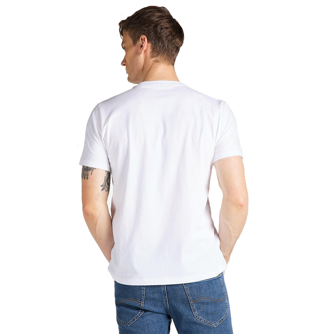 LEE Heritage Tee - Bright White (L63Q-FQ-LJ)
