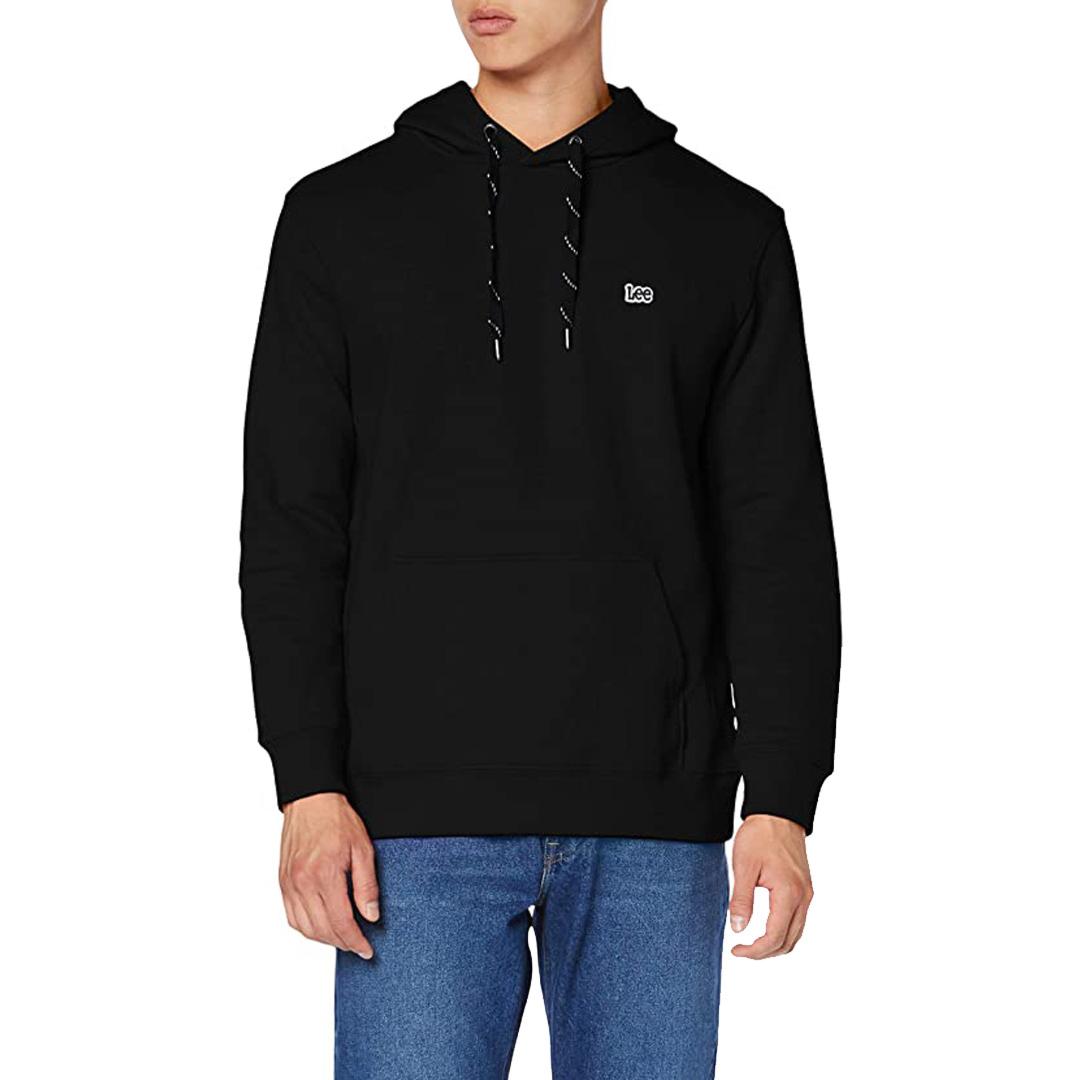 LEE Hoodie Men Sweater - Black (L82HTJ01)