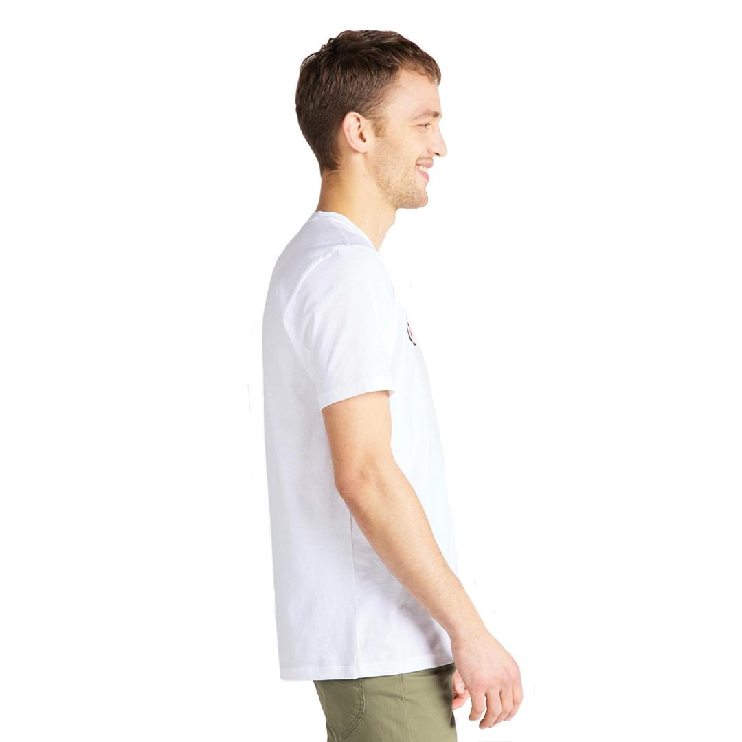 LEE Μπλούζα Ανδρική Λογότυπο - Λευκό (L65L-FE-LJ)