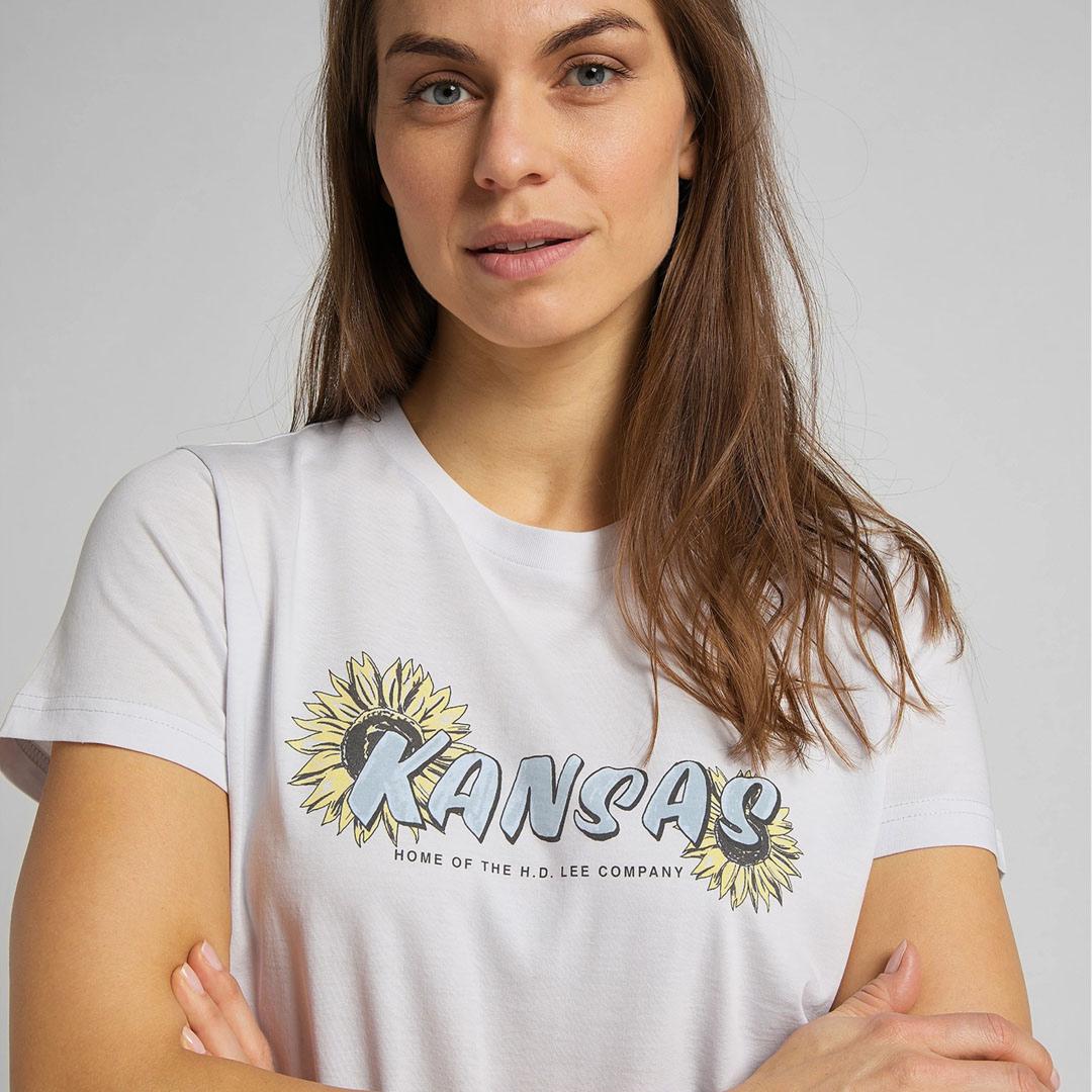 LEE Μπλουζάκι Γυναικείο Λιλά (L44HEPQC)