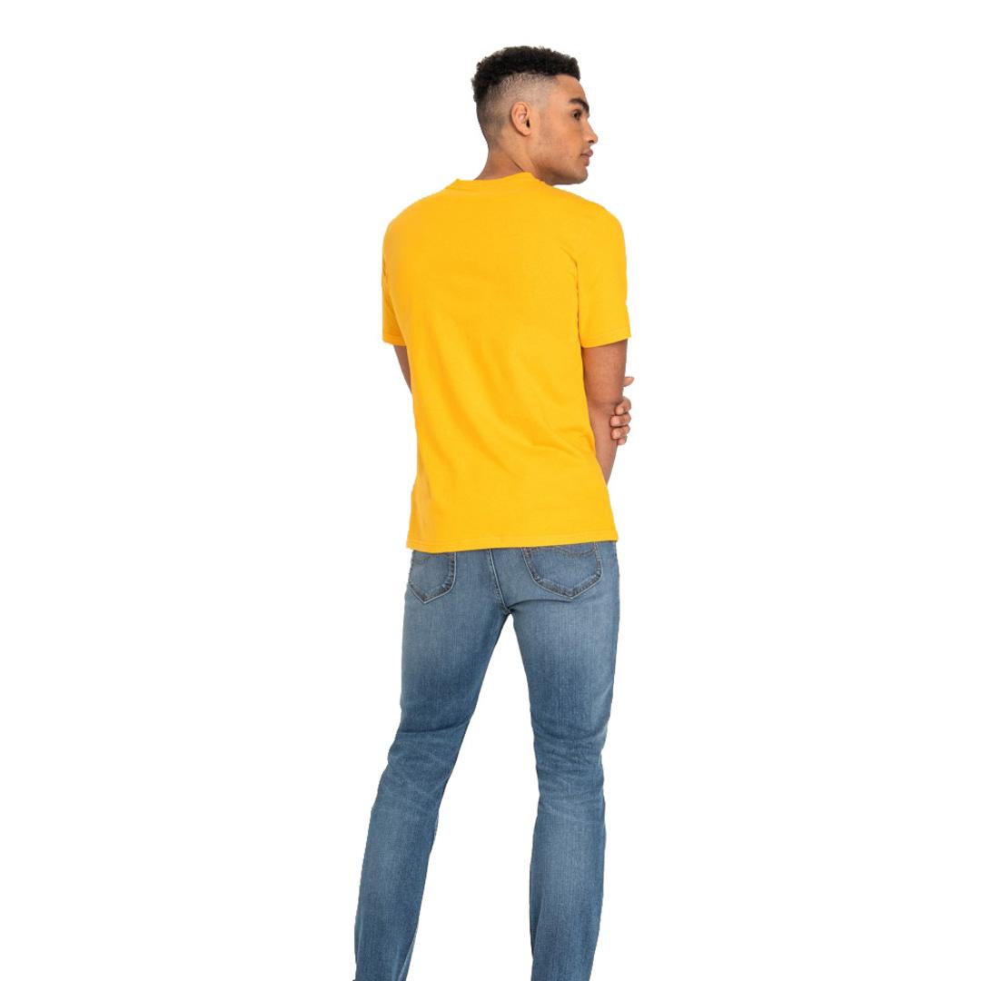 LEE Logo Μπλούζα Ανδρική - Radiant Yellow (L60U-FE-LG)