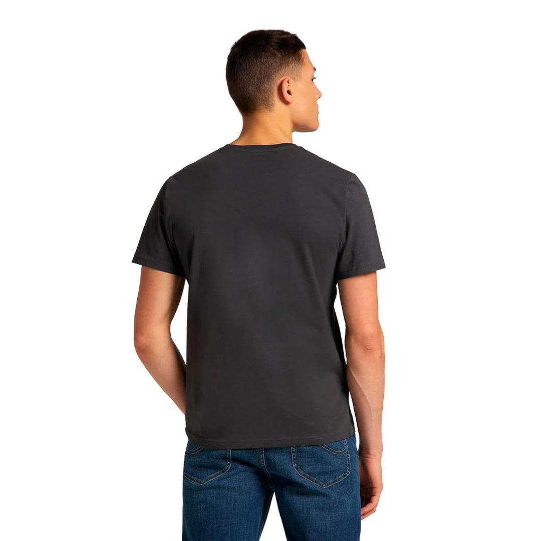 LEE Patch Logo Men Tee - Washed Black (L60UFQON)