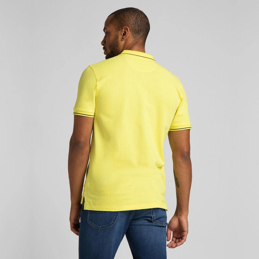 LEE Pique Polo Men in Lemon (L61ARLQG)