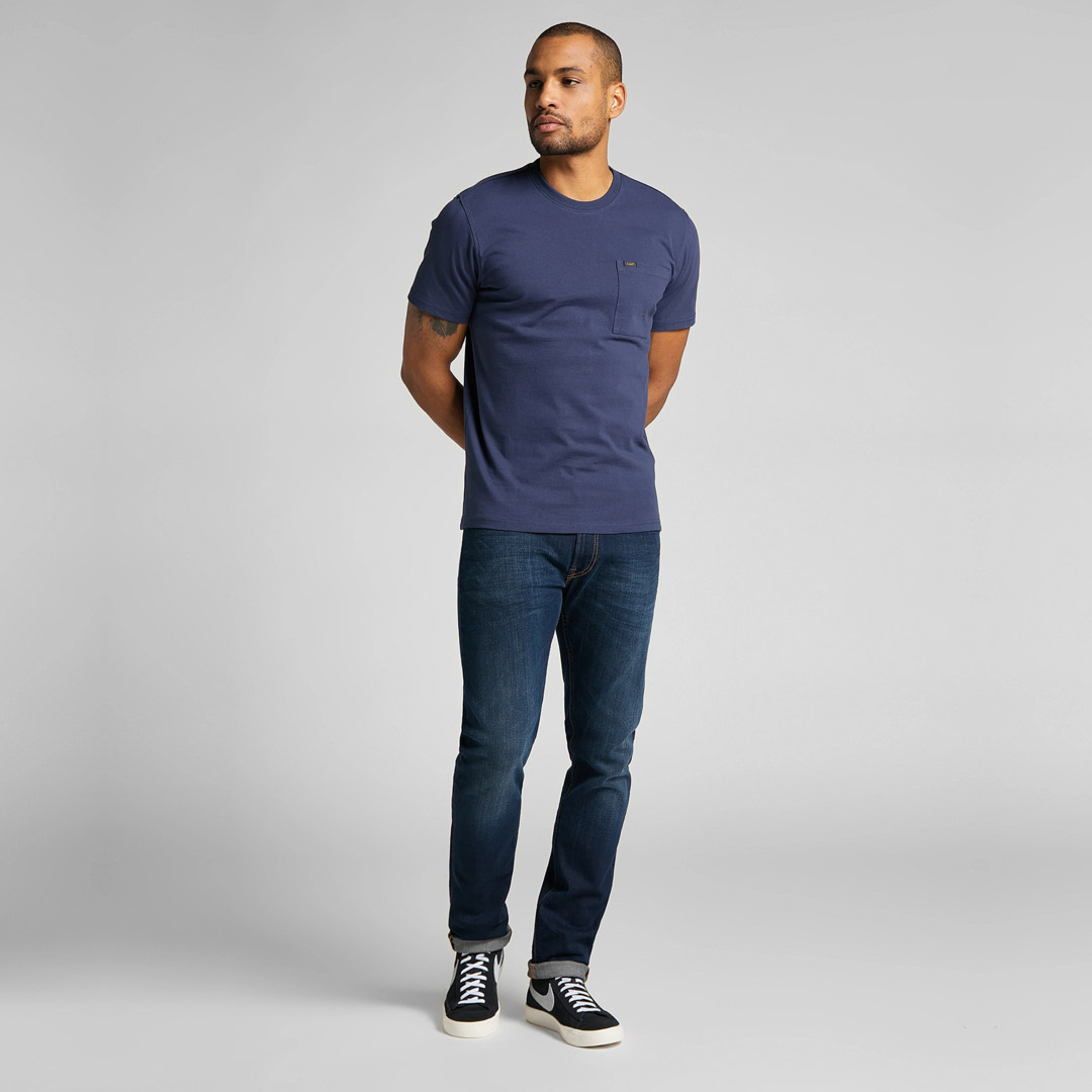 LEE Pocket Tee Men - Dark Navy (L64PSWNM)