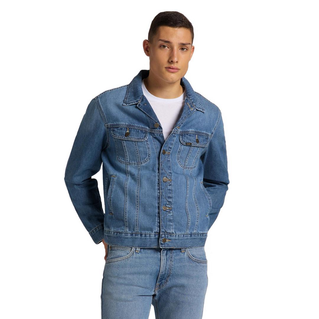 Lee Rider Denim Jacket - Washed Camden (L89ZLJPI)