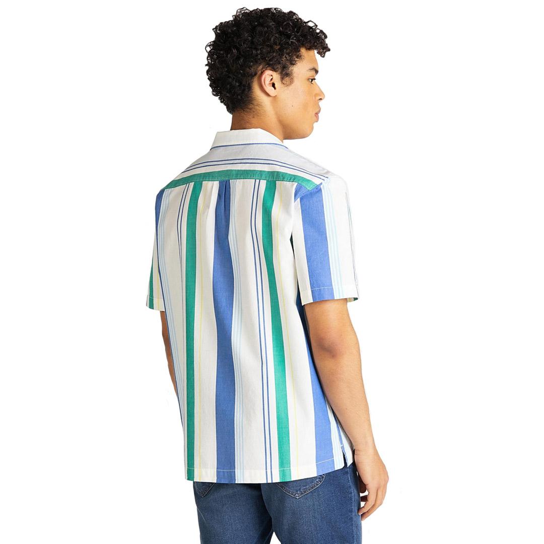 LEE SS Resort Shirt - Summer Blue (L67P-DV-NJ)
