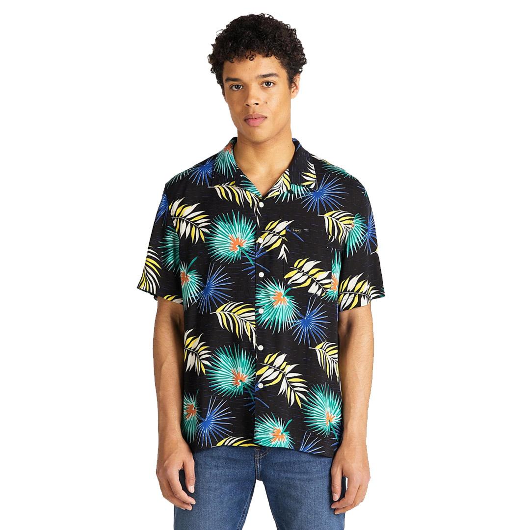 LEE SS Resort Men Shirt - Summer Mint (L67P-DW-NO)