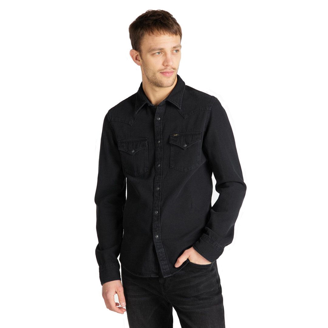 LEE Western Denim Men Shirt - Black (L643-PA-01)