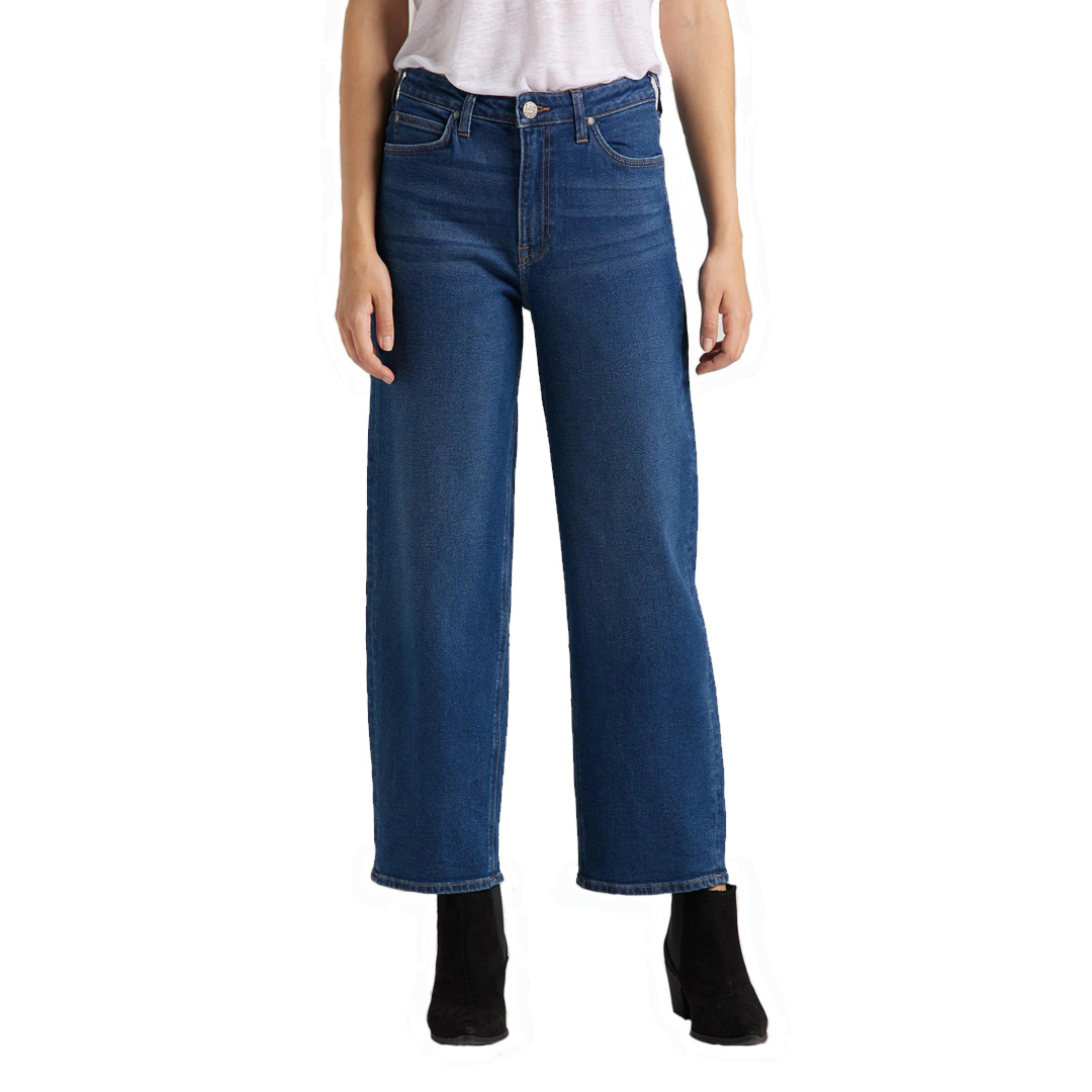 LEE Wide Leg Women Jeans - Dark Dora (L30S-LT-YM)