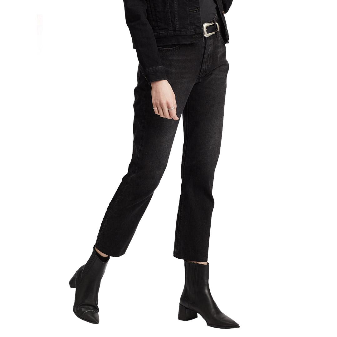 Levi's® 501® Crop Women Jeans - Black Heart (36200-0085)