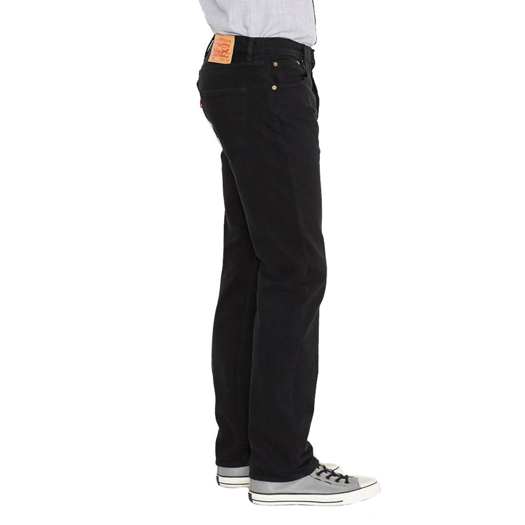 Levi's® 501® Jeans Straight Fit Men - Black (00501-0165)