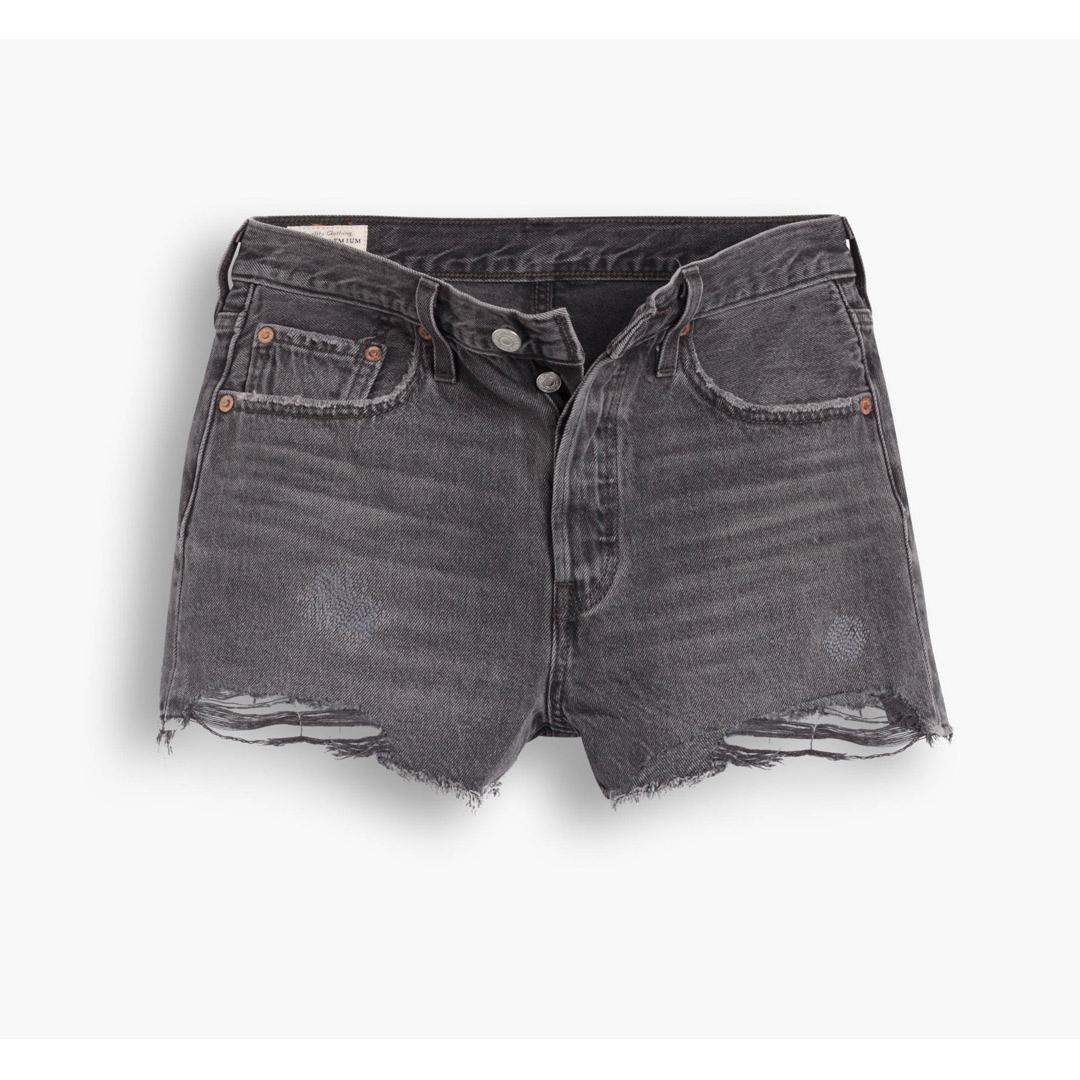 Levi's® 501® Original Fit™ Women Denim Shorts - Eat Your Words (flat)