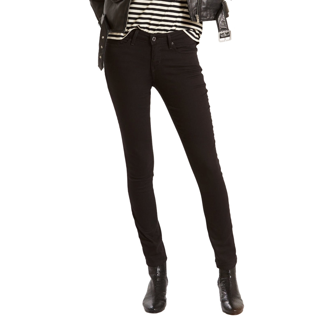 Levi's® 711 Skinny Women Jeans - Black Sheep (18881-0052)