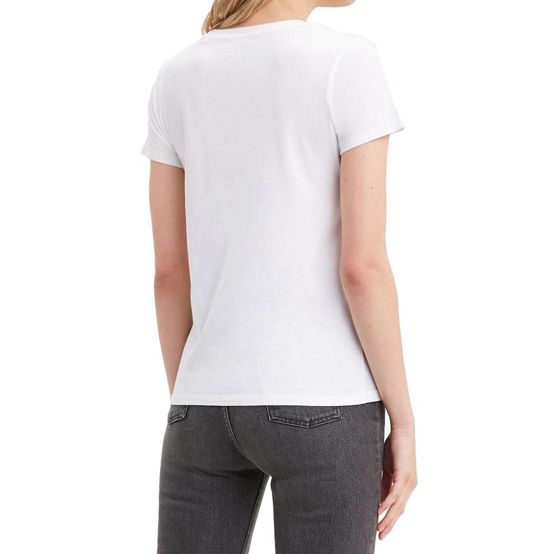 Levi's® 90s Serif Γυναικεία Μπλούζα - Ασπρη (17369-0781)