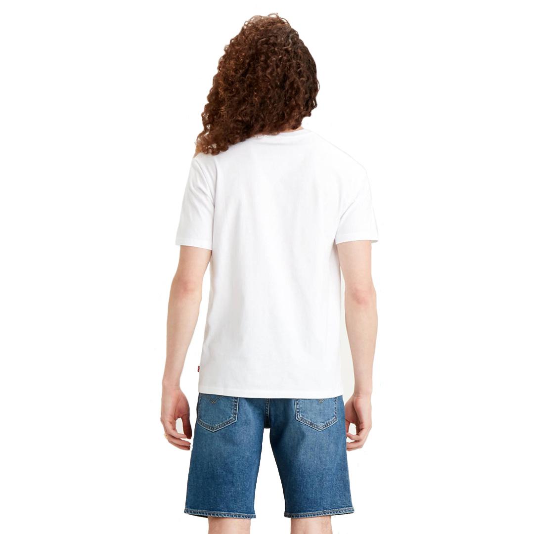 Levi's® Box Tab Μπλουζάκι Ανδρικό Λευκό (22491-0639)
