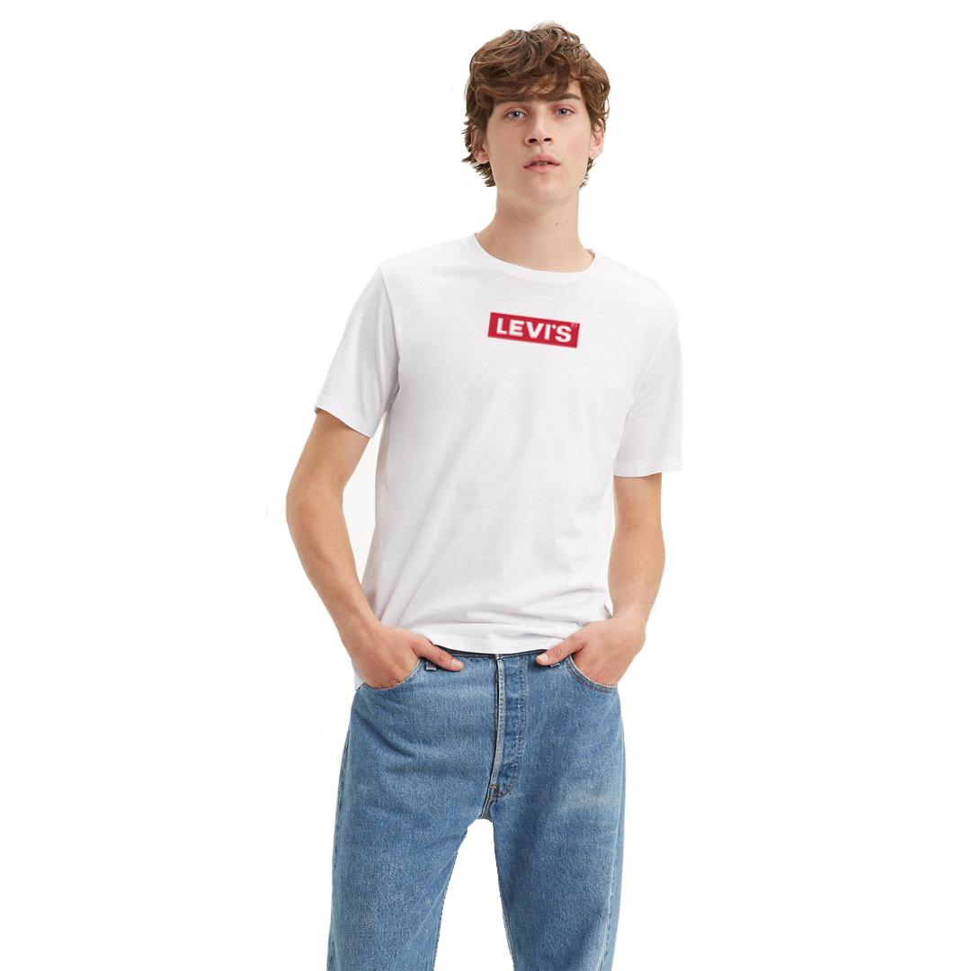 Levi's® Boxtab Men Tee - White (85785-0000)