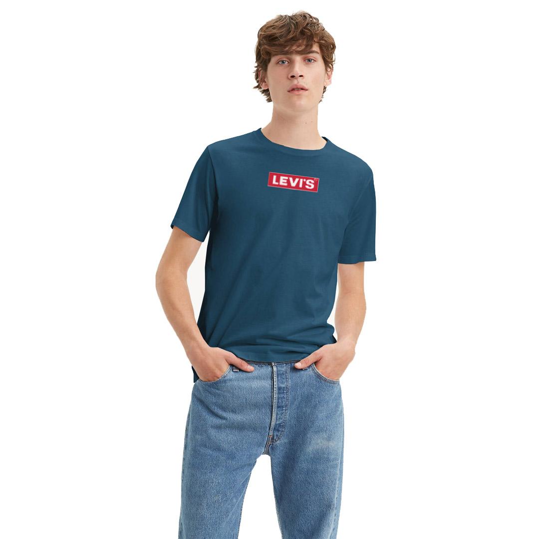 Levi's® Boxtab Men Tee - Dress Blue (85785-0001)