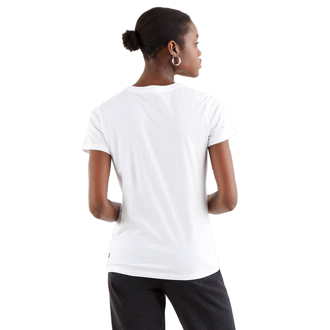 Levi's® Circle Logo Women Tee - Gradient White (17369-1295)
