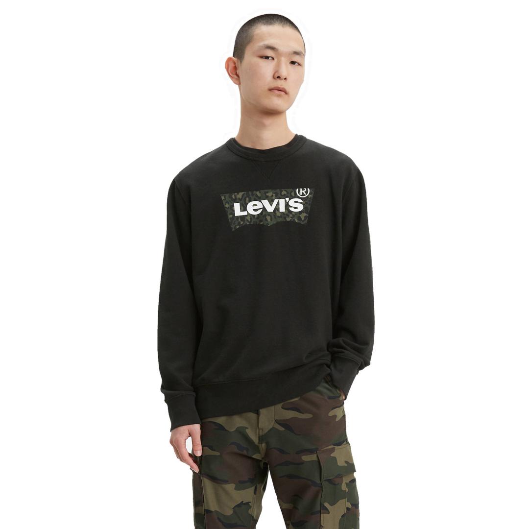 Levi's® Graphic Crew HM Animal - Mineral Black (17895-0090)