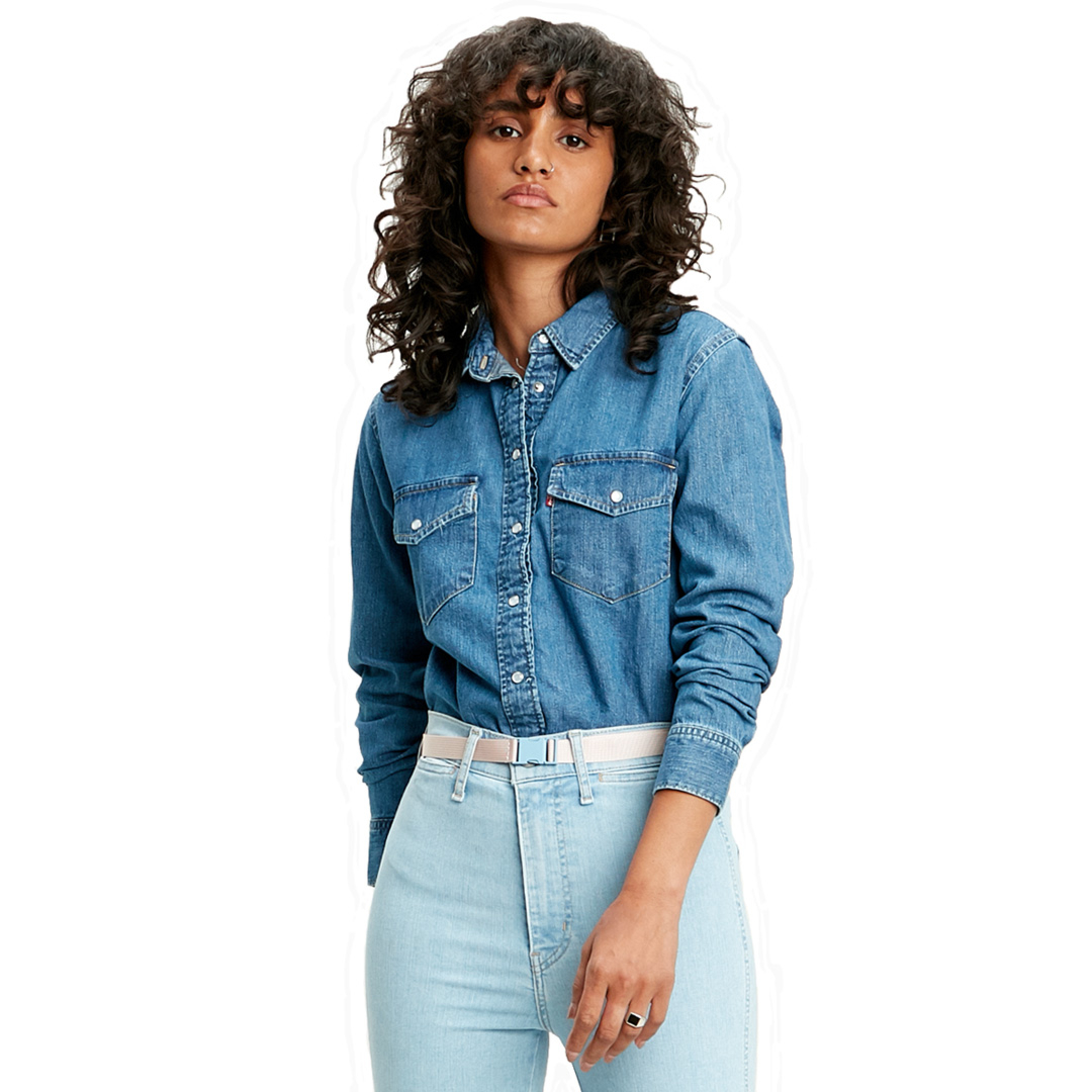 Levi's® Essential Western Denim Women Shirt - Going Steady (16786-0002)